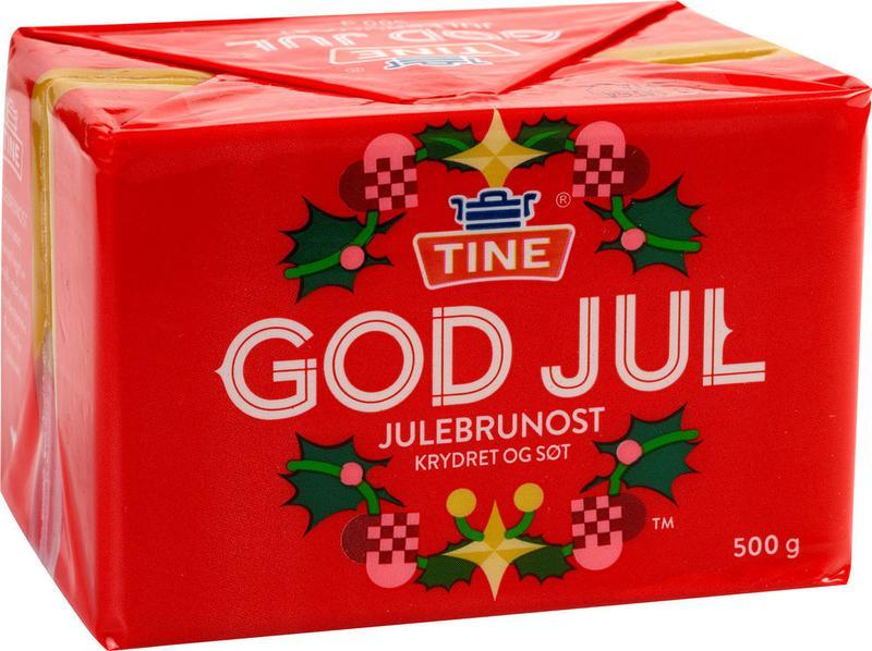 Сыр Julebrunost Джулбруност - ограниченный выпуск/ для Рождества