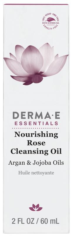 Питательное очищающее масло розы Derma E США - Фото 2