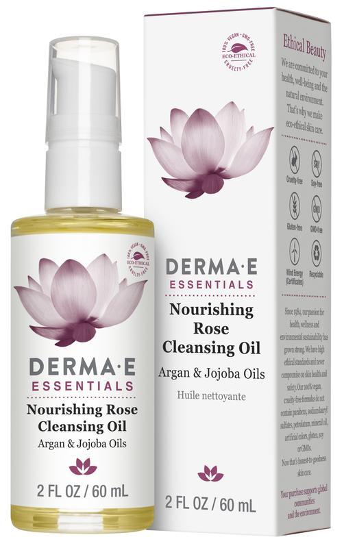 Питательное очищающее масло розы Derma E США