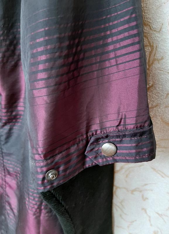 Куртка женская сиреневая демисезонная ветровка на 50 размер - Фото 4