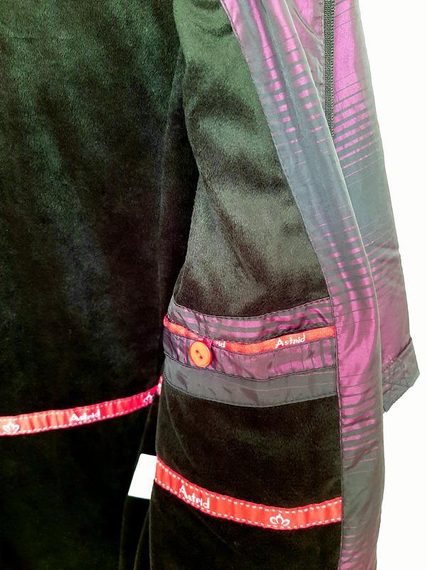 Куртка женская сиреневая демисезонная ветровка на 50 размер - Фото 6