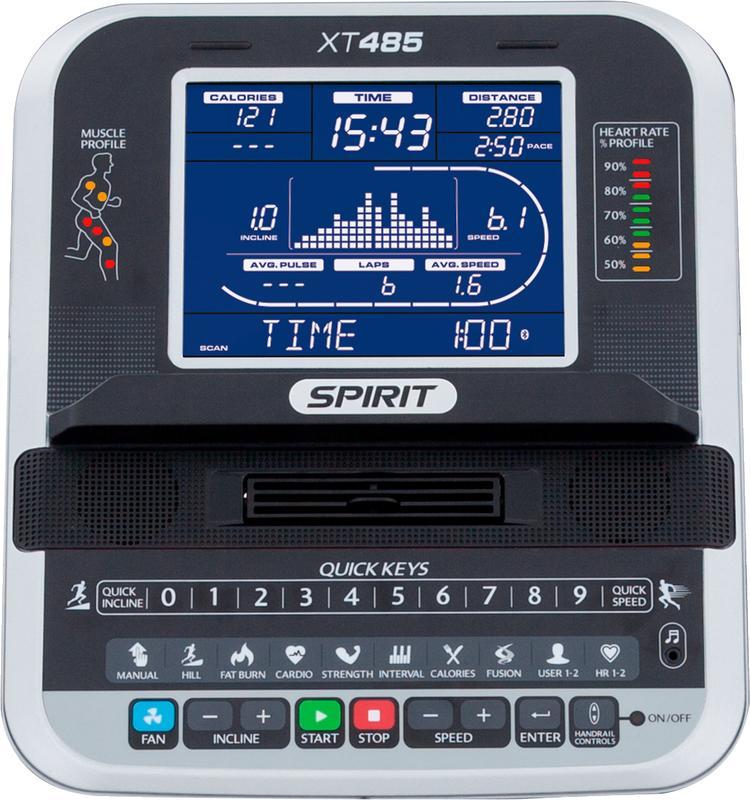 Беговая дорожка Spirit XT485.16 - Фото 9
