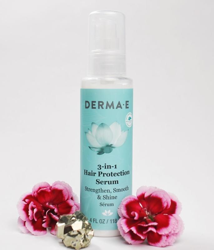 Сыворотка для защиты волос 3-в-1 Derma E США
