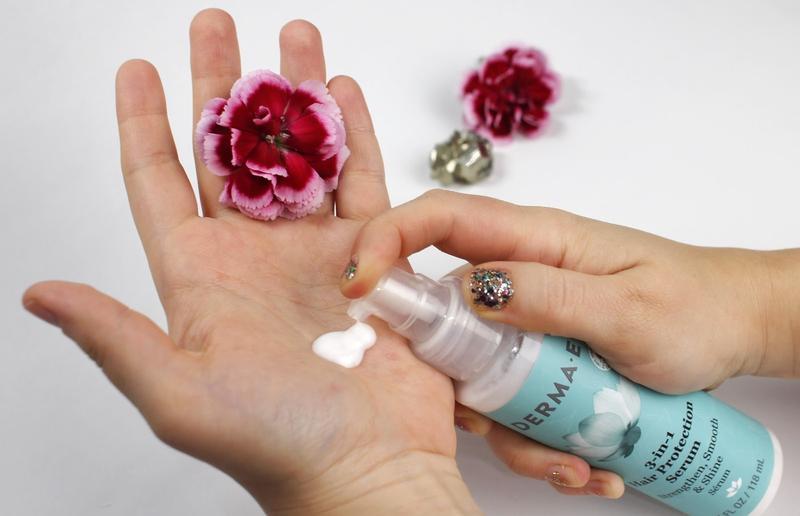 Сыворотка для защиты волос 3-в-1 Derma E США - Фото 2