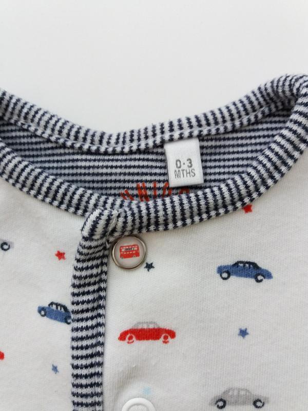 Трикотажная пижамка человечек хлопок jasper conran - Фото 3