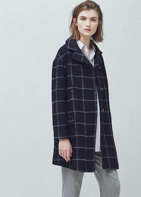Трендовое пальто манго -шерсть, очень классное