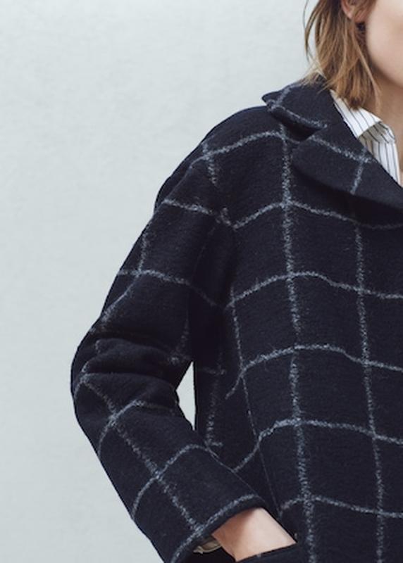 Трендовое пальто манго -шерсть, очень классное - Фото 2