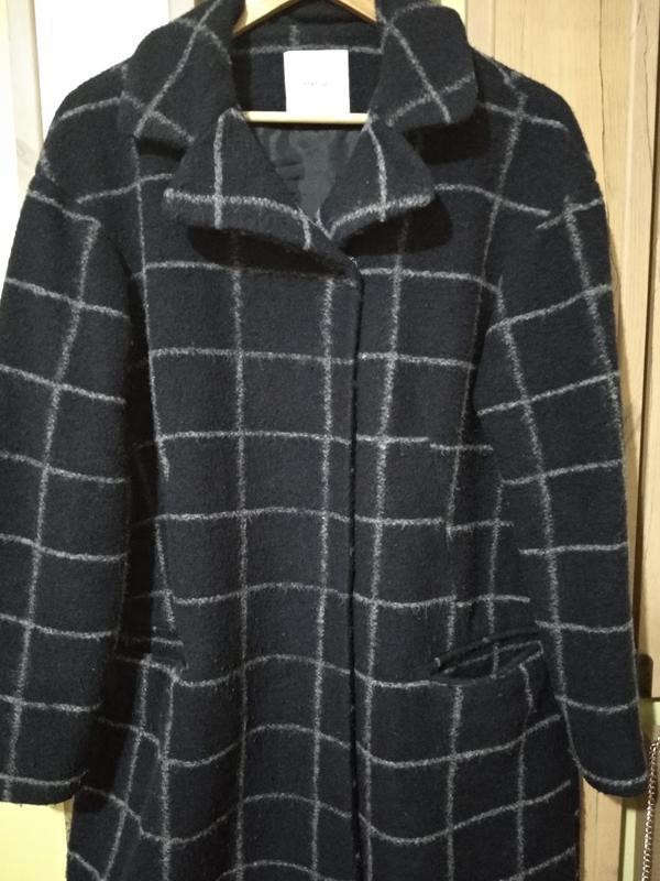 Трендовое пальто манго -шерсть, очень классное - Фото 5