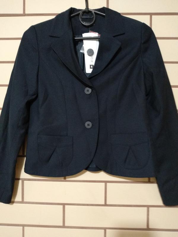 Элегантный пиджак и юбка войчик в школу р140, школьная форма д... - Фото 3