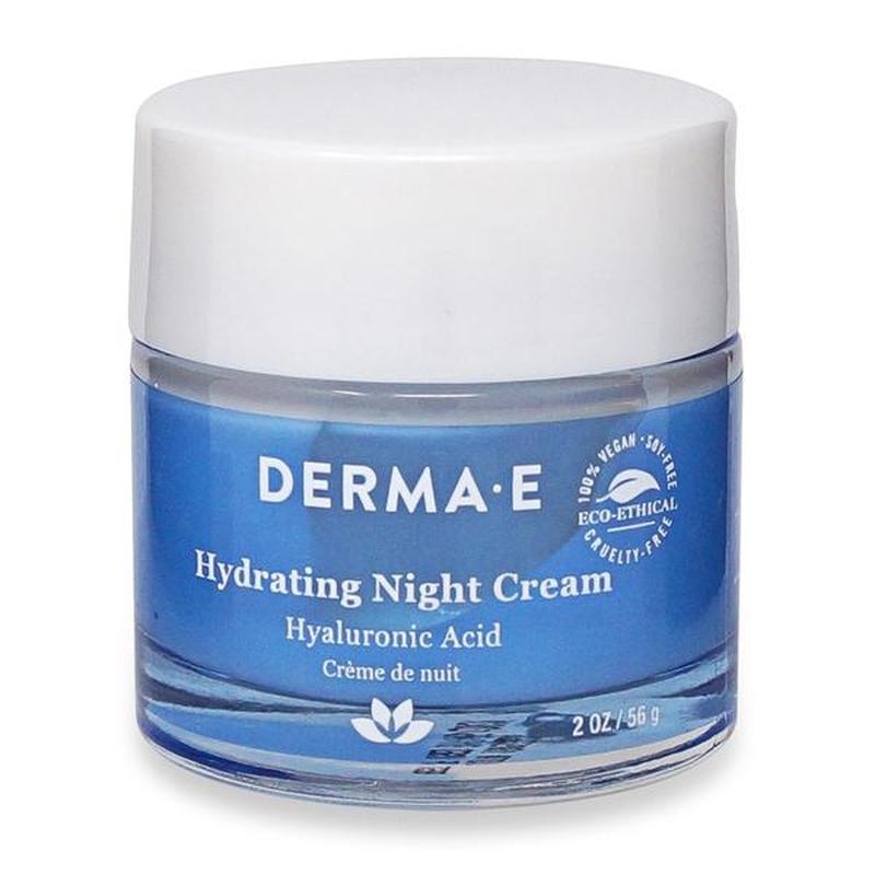 Увлажняющий ночной крем с гиалуроновой кислотой Derma E США - Фото 5
