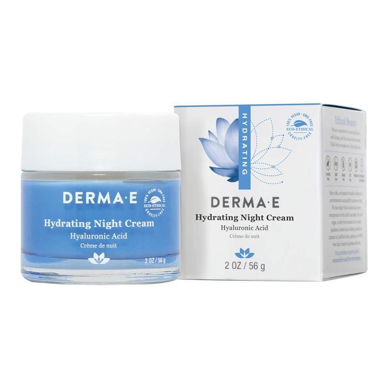 Увлажняющий ночной крем с гиалуроновой кислотой Derma E США