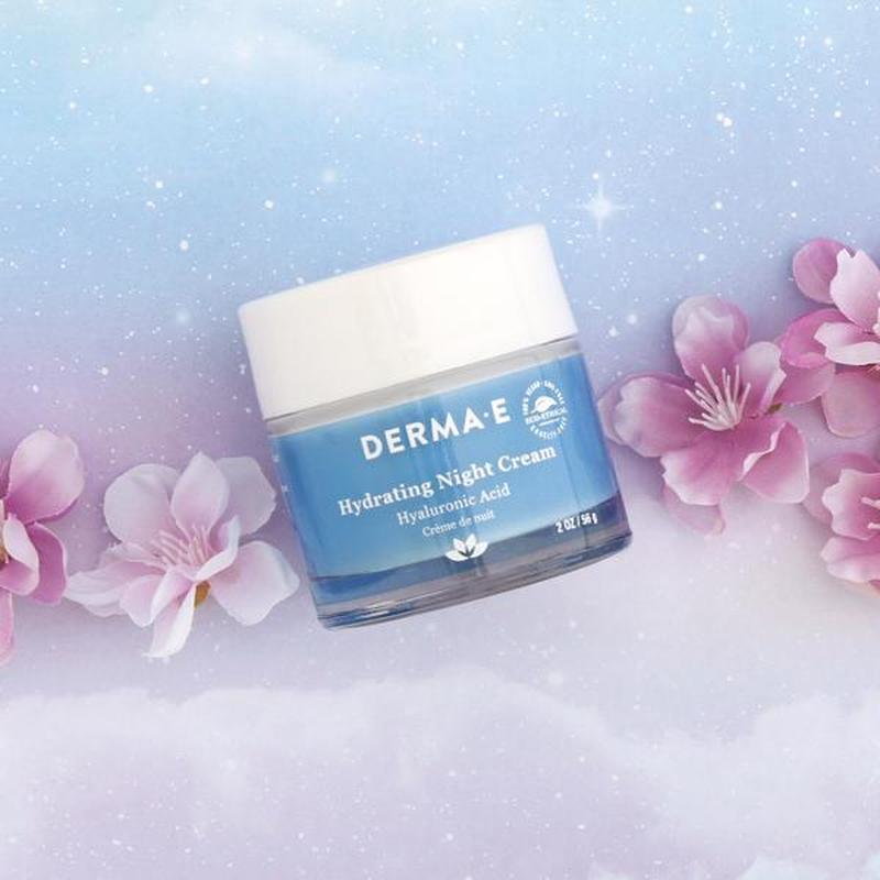 Увлажняющий ночной крем с гиалуроновой кислотой Derma E США - Фото 6
