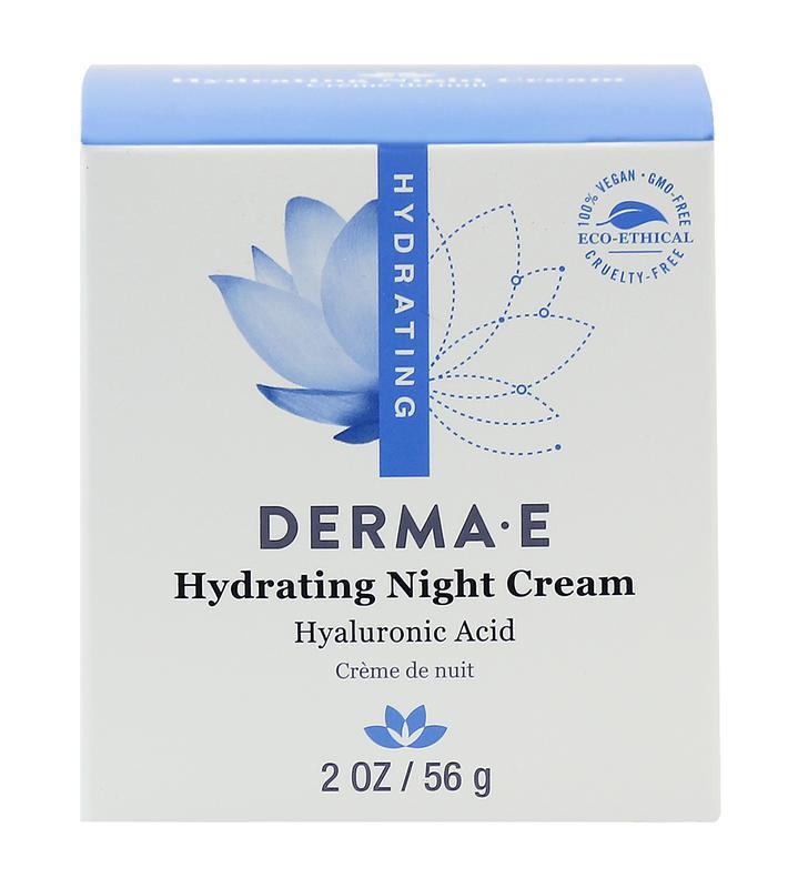 Увлажняющий ночной крем с гиалуроновой кислотой Derma E США - Фото 4