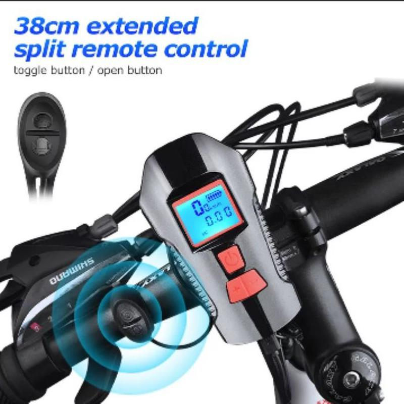 Велофонарь велофара, фонарь для велосипеда с аккумулятором 5 р...