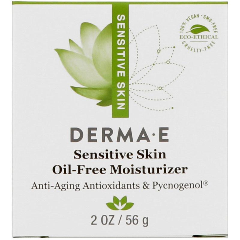 Увлажняющий гель без масел для чувствительной кожи Derma E США - Фото 2