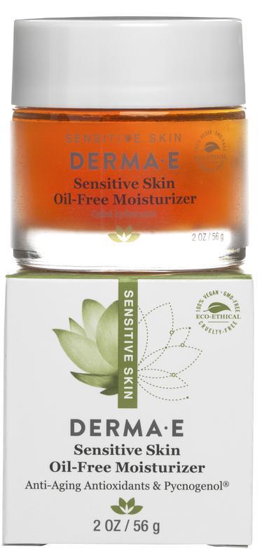 Увлажняющий гель без масел для чувствительной кожи Derma E США