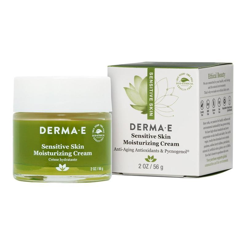 Увлажняющий крем для чувствительной кожи Derma E США - Фото 3