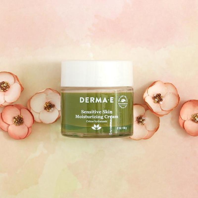 Увлажняющий крем для чувствительной кожи Derma E США - Фото 2