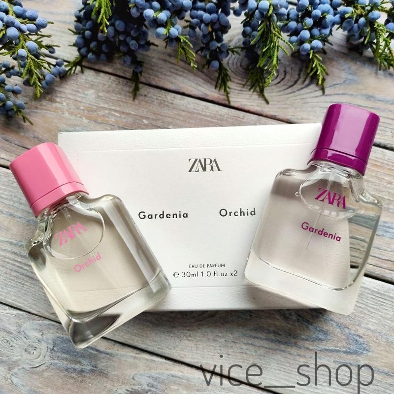 Zara gardenia orchid духи парфюмерия туалетная вода оригинал и...