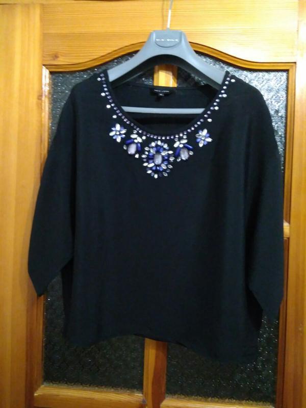 Шикарная блуза бренда new look, размер 10