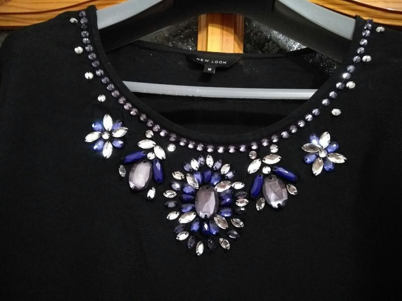 Шикарная блуза бренда new look, размер 10 - Фото 2