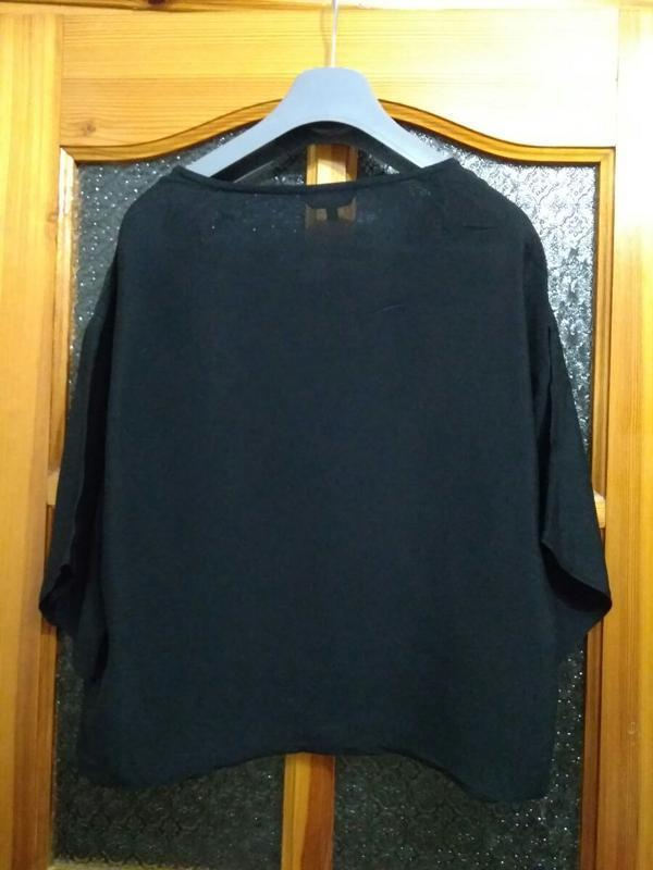 Шикарная блуза бренда new look, размер 10 - Фото 3