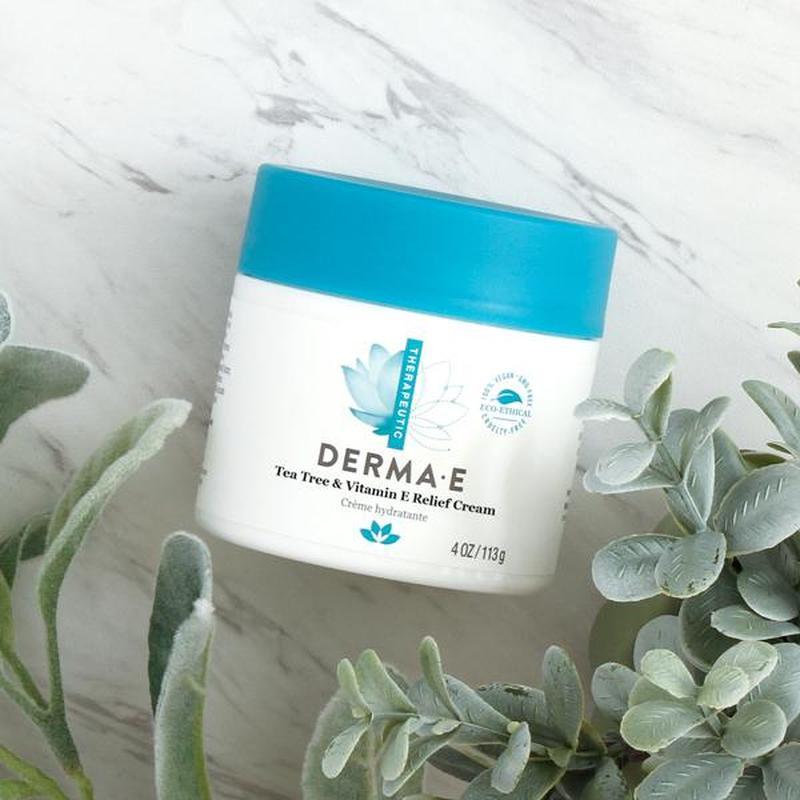 Антисептический крем с маслом чайного дерева Derma E США - Фото 4
