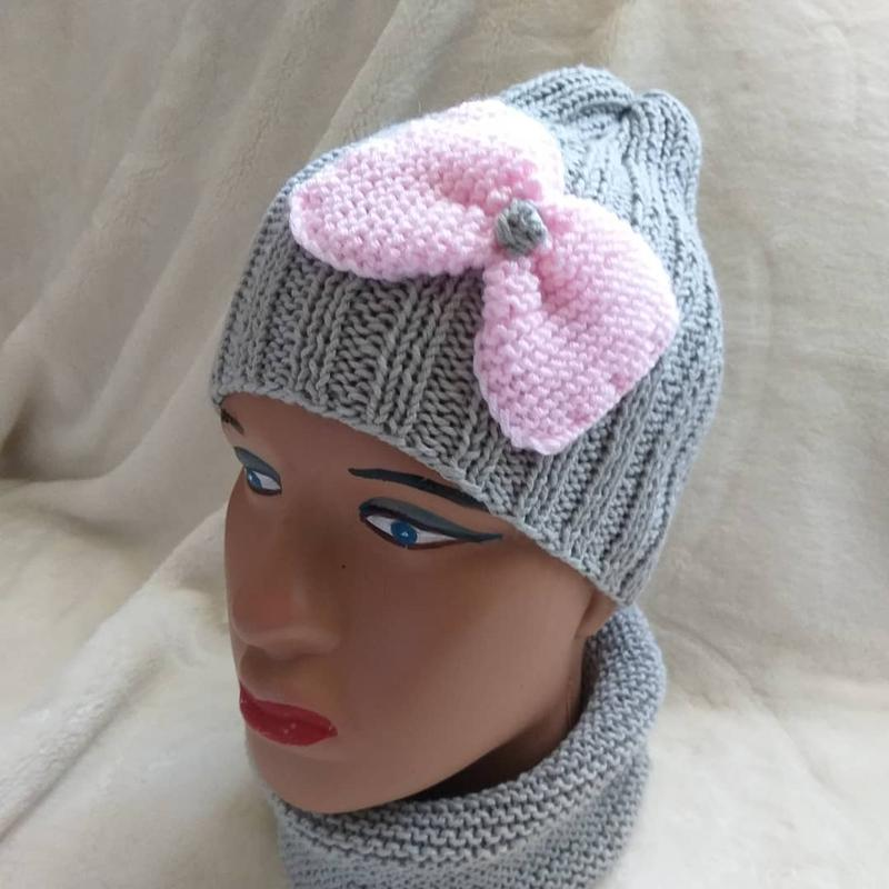 В'язані шапки та берети - Фото 3