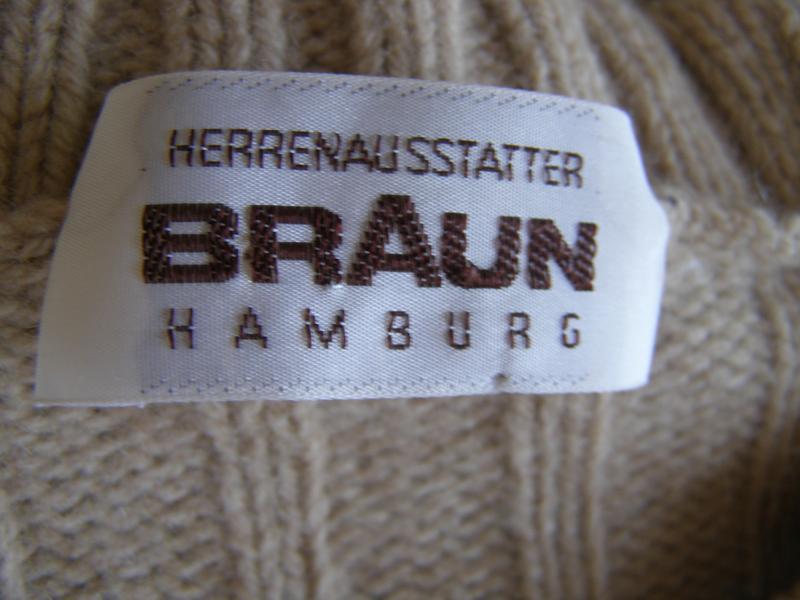 Braun humburg свитер 55% шерсть 30% верблюжья шерсть 15% кашем... - Фото 3