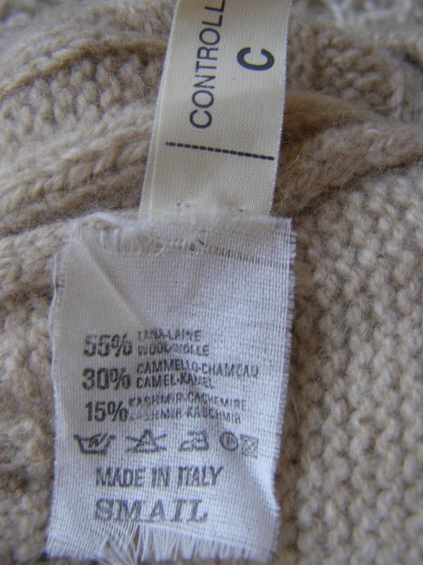 Braun humburg свитер 55% шерсть 30% верблюжья шерсть 15% кашем... - Фото 10