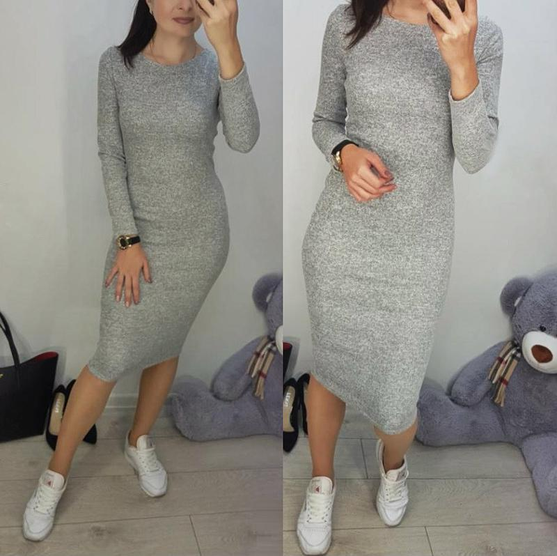 🔥теплое платье ангора