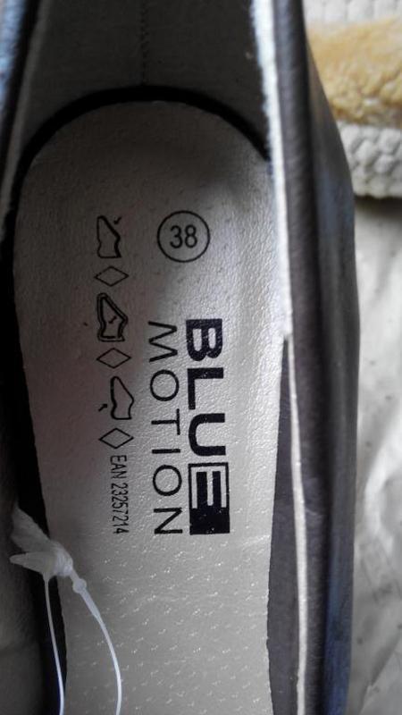 Туфли blue motion германия р. 37 стелька 24 см - Фото 4