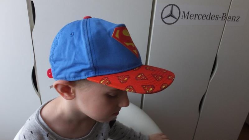 Модная детская кепка супермен superman dc comics на 7 лет - Фото 2