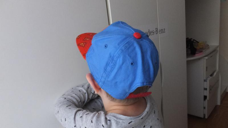 Модная детская кепка супермен superman dc comics на 7 лет - Фото 3