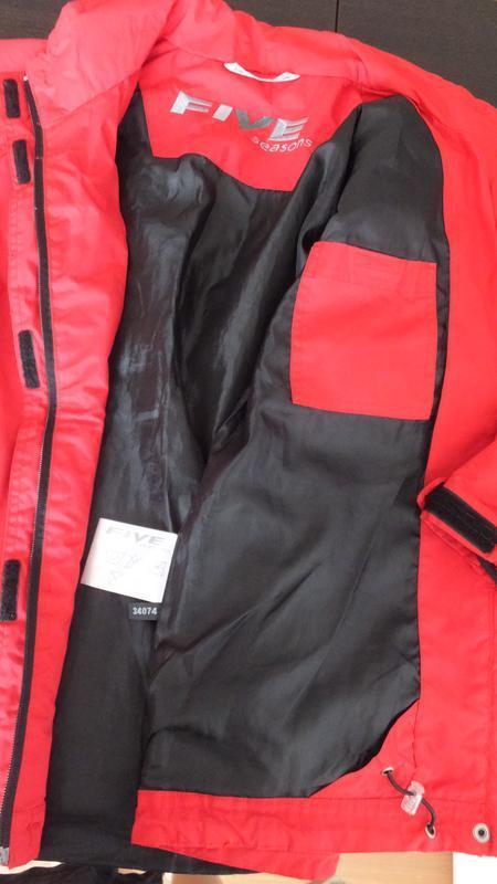 Демисезонная мембранная куртка ветровка five seasons швеция ра... - Фото 3