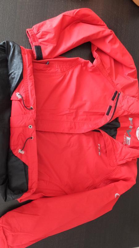 Демисезонная мембранная куртка ветровка five seasons швеция ра... - Фото 4