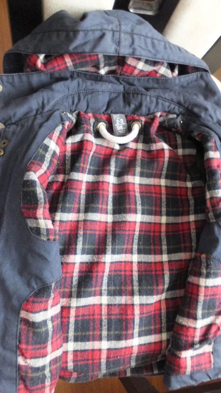 Демисезонная с подстежкой / зимняя куртка zara kids размер 98 ... - Фото 2