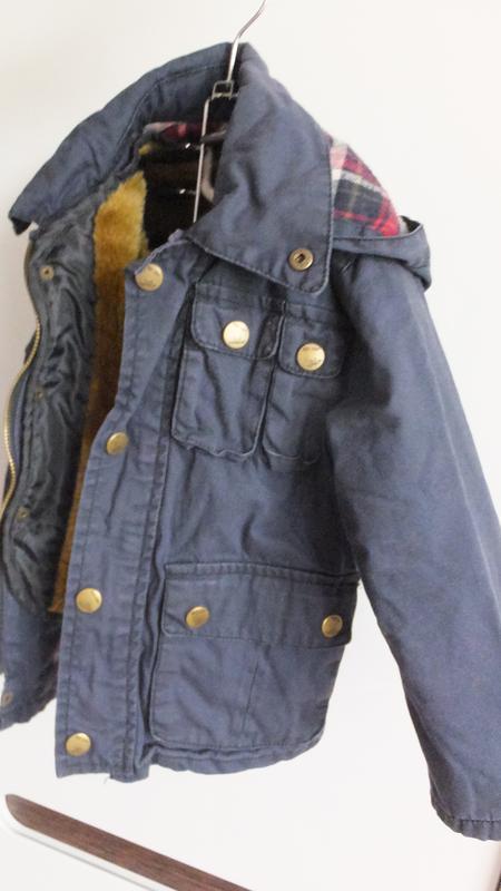 Демисезонная с подстежкой / зимняя куртка zara kids размер 98 ... - Фото 3