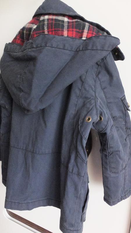 Демисезонная с подстежкой / зимняя куртка zara kids размер 98 ... - Фото 5