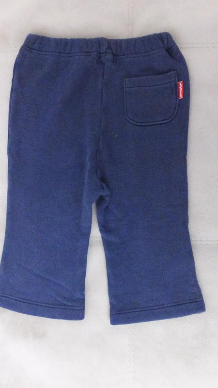 Спортивные штаны с махрой miki house first (япония) разм.80 на... - Фото 2
