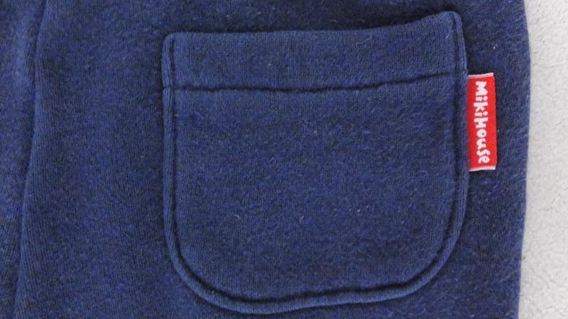Спортивные штаны с махрой miki house first (япония) разм.80 на... - Фото 4