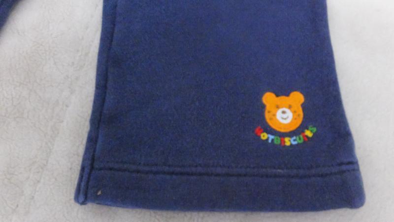 Спортивные штаны с махрой miki house first (япония) разм.80 на... - Фото 5