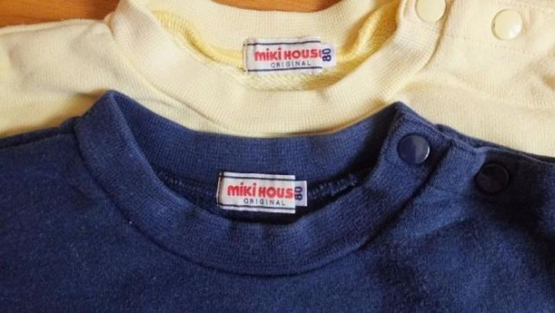 Кофта свитшот свитер толстовка mickey house (япония) размер 80 - Фото 2