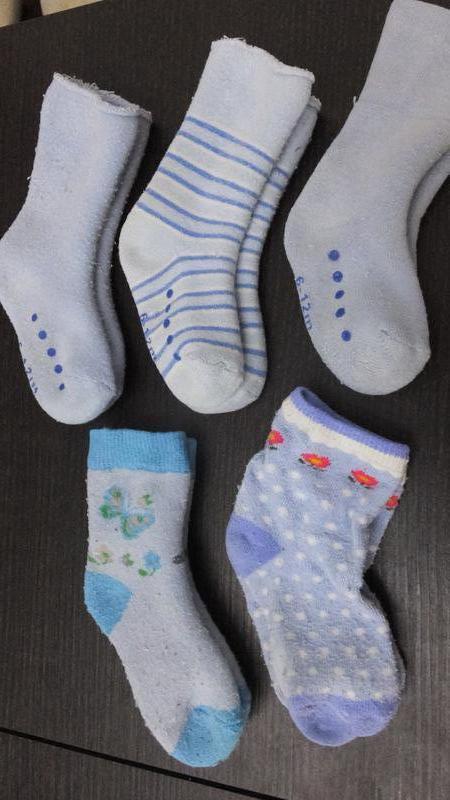 Все 5 пар за 50 грн теплые носки махровые носочки mothercare н...