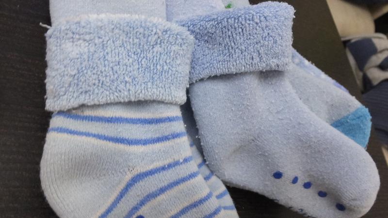 Все 5 пар за 50 грн теплые носки махровые носочки mothercare н... - Фото 2