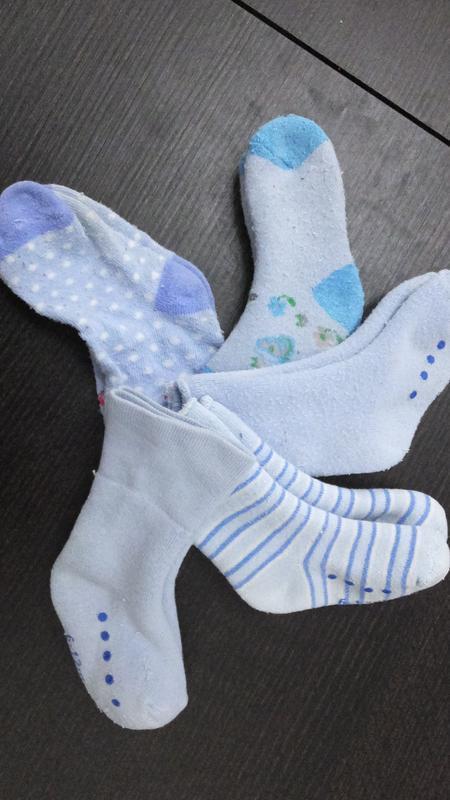 Все 5 пар за 50 грн теплые носки махровые носочки mothercare н... - Фото 4