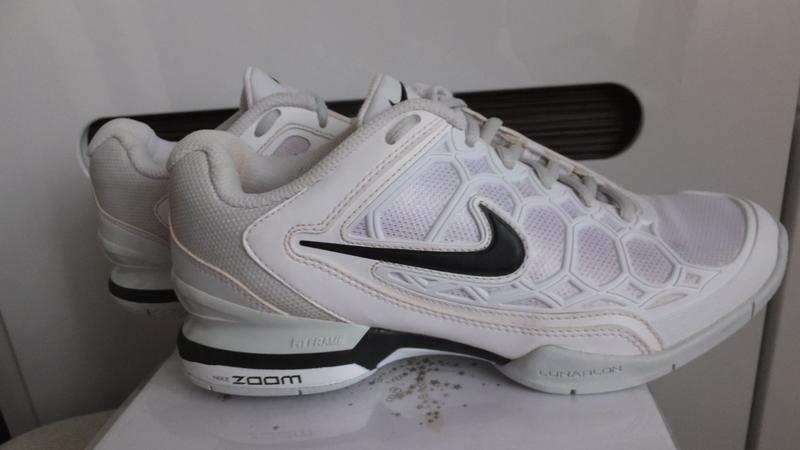 Кожаные кроссовки nike zoom breathe 2k11 оригинал сша р. 37 ст... - Фото 2