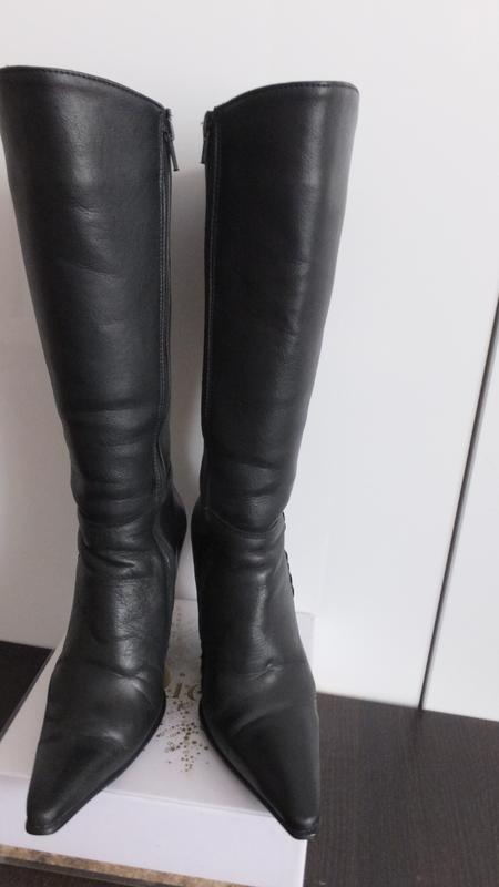 Сапоги зимние vlasta original style на меху размер 36 стелька ...