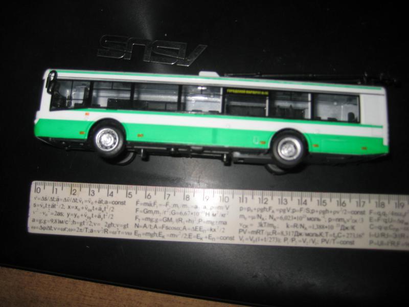 Модель троллейбуса, б/у