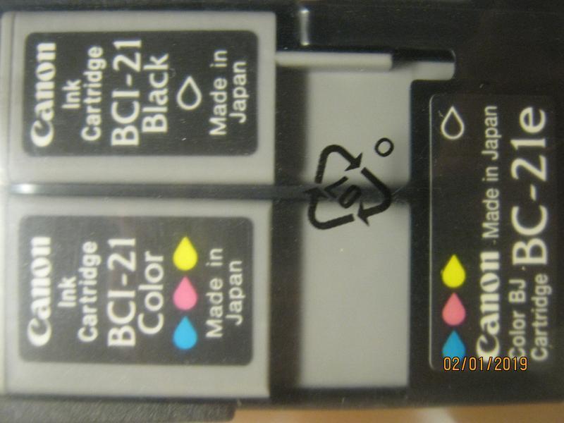 Картридж Canon BCI - 21 (цветной+черный)